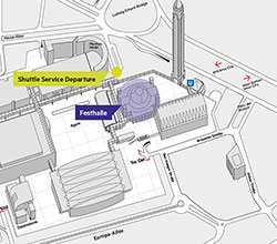 Shuttle Service – Departure point